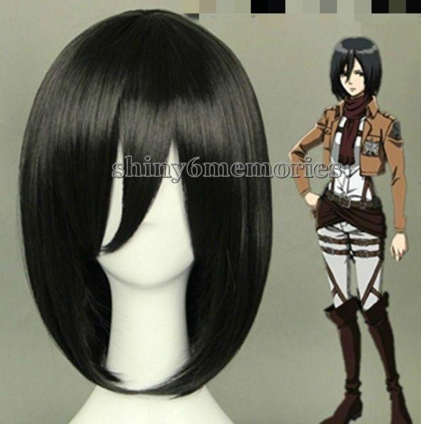 Peruca Mikasa