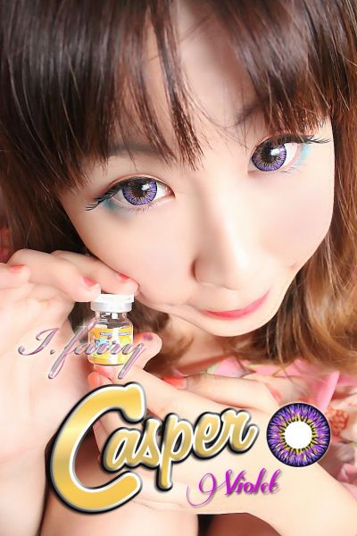 (BIG EYES) Casper Violet