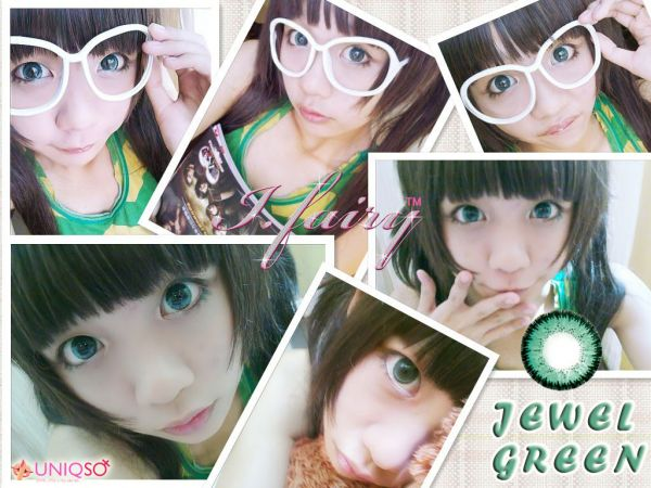 (BIG EYES) Jewel Green